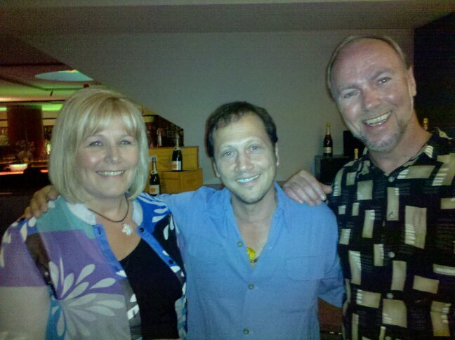 celebrity pics Rob Schneider Gary Thison Cleveland comedians comedy